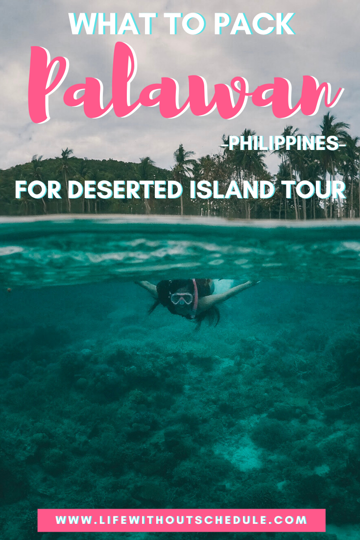 Philippines Deserted Island Tour – What To Pack